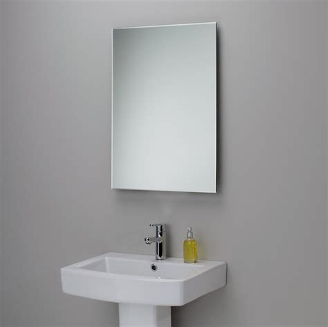 Bathroom Beveled Mirrors by Ba 241 Os Modernos Rectangulares Dikidu Com