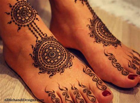 leg mehndi designs simple easy henna patterns