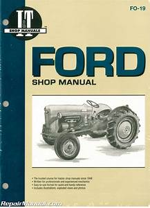 Ford New Holland Naa Golden Jubilee Tractor Repair Manual