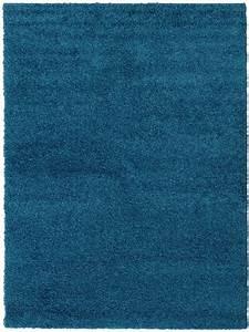Teppich Hochflor Blau : benuta hochflor teppich swirls blau 60001044 uni bettvorleger br cke l ufer quad ebay ~ Indierocktalk.com Haus und Dekorationen