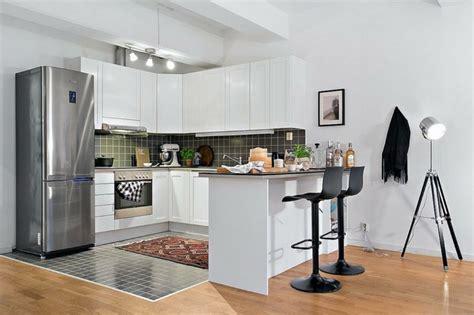 cuisine design petit espace aménagement petit espace idées déco petit appartement