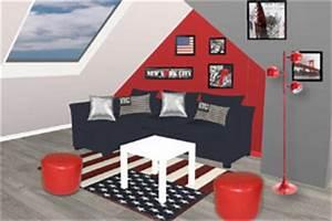 decoration de chambre etats unis visuel 4 With deco chambre etats unis