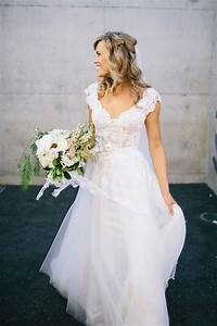 30 stunning wedding dresses with cap sleeves decor advisor With wedding dress separate bodice and skirt
