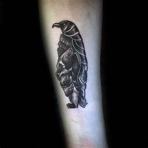 50 Penguin Tattoo Designs For Men - Aquatic Bird Ink Ideas