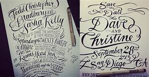 hand lettering with ladyfingers letterpress With hand lettering paper