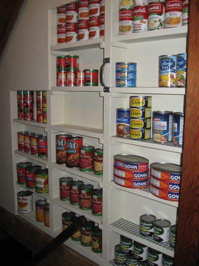 Basement Pantry Ideas Shelves Between The Studs Going To Basement Not Sure