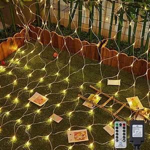 Net Lights    200 Led 9 8ft X 6 6ft Net Lights With Remote