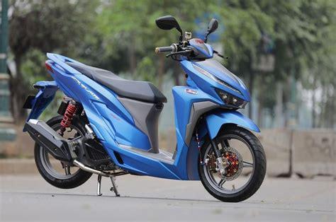 Modif Vario Standar by Dimodif Simpel Dan Warna Tilan New Honda Vario