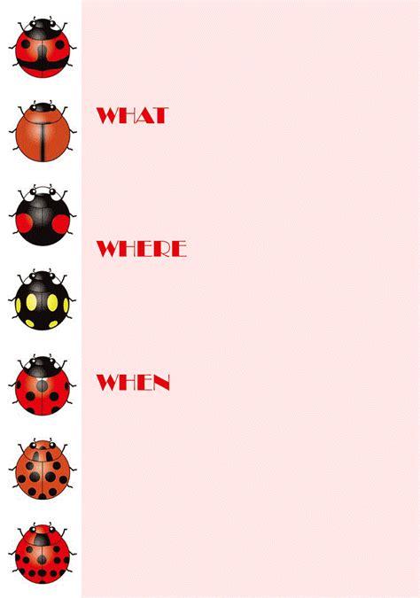 printable ladybug birthday invitations bagvania