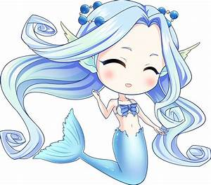 Q-style cartoon mermaid | OpenGameArt.org