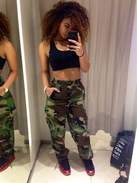 Pants camouflage tumblr crystal westbrooks high waisted shirt shorts camouflage cargo pants high ...