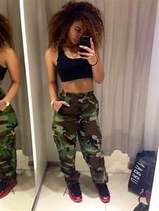 pants camouflage tumblr crystal westbrooks high waisted ...