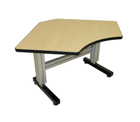 height adjustable computer desk equal corner electric adjustable height desk ergosource