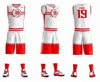Basketball Uniform Sublimated Uniforms Sportswear