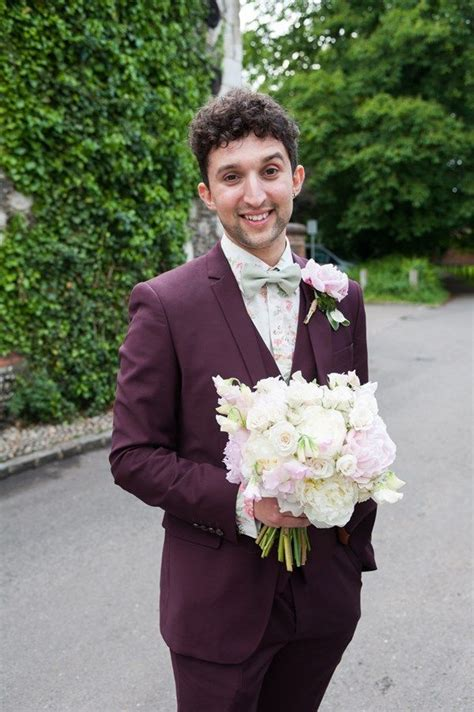 Charming rustic wedding suits for the groom Rustic
