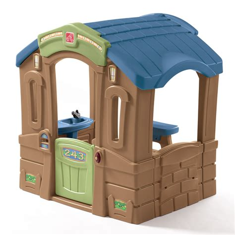 step 2 play sink play up picnic cottage kids playhouse step2
