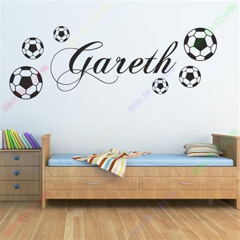 stickers deco chambre garcon free shipping i football wall stickers home decor