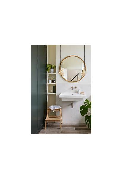 Bathroom Space Tiny Clever Ways Solutions Sleek