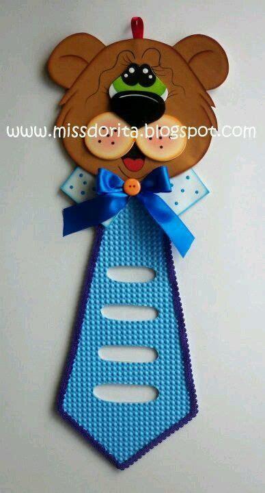 Porta corbata Manualidades Manualidades dia del padre y
