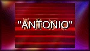 Felicidades Antonio