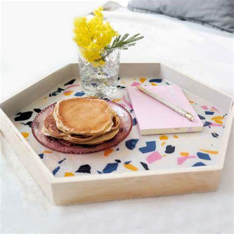 resina terrazzo create your trendy terrazzo tray with p 233 b 233 o paint