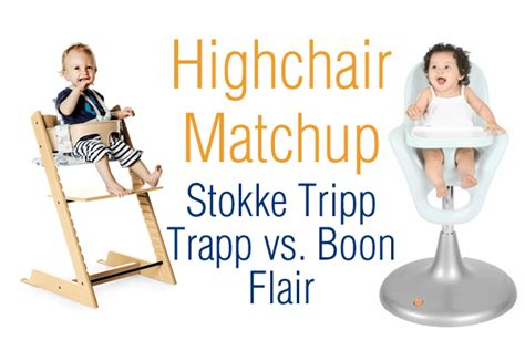 Abiie High Chair Vs Stokke by Highchair Matchup Stokke Tripp Trapp Vs Boon Flair
