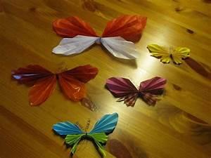 Schmetterlinge Aus Tonpapier Basteln : basteln mit papier schmetterling falten bastelideen mit papier deko basteln youtube ~ Orissabook.com Haus und Dekorationen