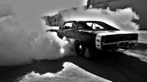 Muscle Cars Vehicles Burnout Dodge Charger Wallpaper