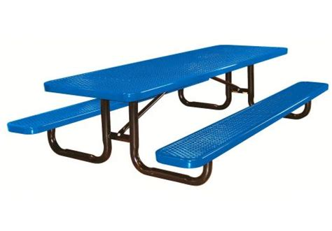 standard 8 foot table 8 39 expanded kids picnic table commercial site furnishings