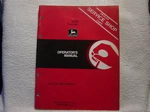 John Deere 2940 Tractor Operator Manual