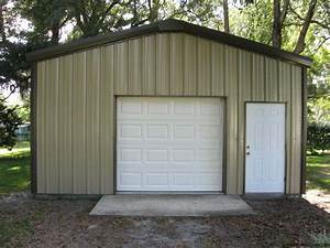 small industrial metal buildings steel car garage With backyard shop buildings