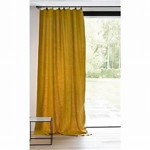 Rideaux En Lin Lavé : rideau lin lav doubl passants cuir private rideau lin lav rideaux lin et lin lav ~ Teatrodelosmanantiales.com Idées de Décoration