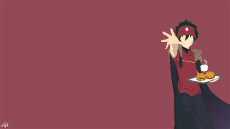 maou sadao   devil   part timer hd wallpaper