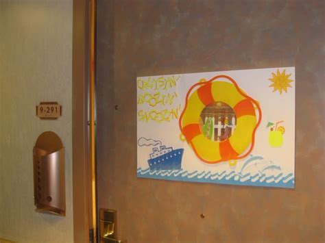 cruise door decoration decorate door travel ideas