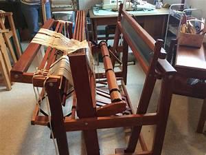 Maine Village Weaver  Loomcraft Used Loom 4 Harness Cherry