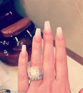 zolciak wedding ring zolciak shares photo of pout and diamonds daily mail