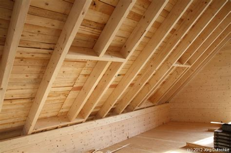 Dach, Fenster, Dachfenster Im Holz100haus Baufortschritt
