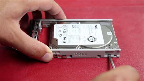 dell poweredge  rack servers remove hard drive