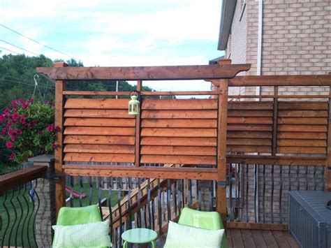 flex deck deck railings flex fence louver system