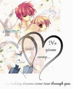 Anime Love Quotes. QuotesGram