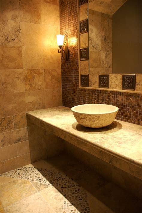 Ideas Around A Mirror by 31 Ideas Of Using Mosaic Tile Around Bathroom Mirror