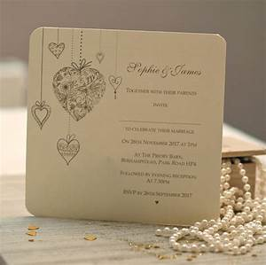 39hearts personalised39 wedding invitations by beautiful day With personalised wedding invitations online uk