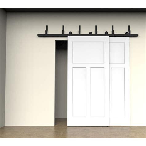 home interior catalog winsoon 5 16ft bypass sliding barn door hardware