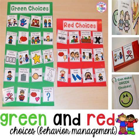 green and choice board behavior management 471   f50cf1d4928207efccc2c85d2ed9fe19