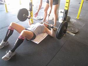 The rockzone 12 02 20 bench press and push ups for Crossfit floor press