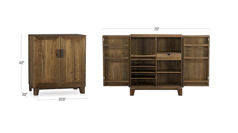 crate and barrel elan bar cabinet marin bar cabinet crate and barrel