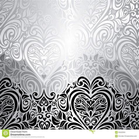 classic black white vintage invitation background stock