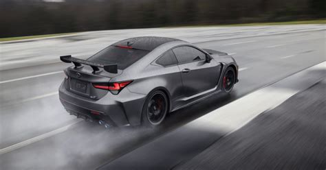2020 Lexus Rc F Track Edition 0 60 by 2020 Lexus Rc F Track Edition Drops Some Pounds Reaches
