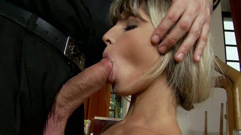 Skinny Blonde Sweetie Doris Ivy Sucks Hard Cock Like A Real Pro