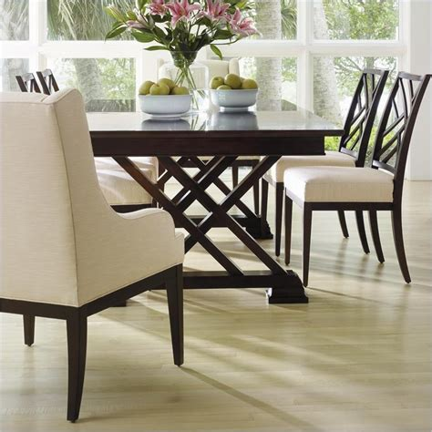 stanley furniture continuum casual dining table in